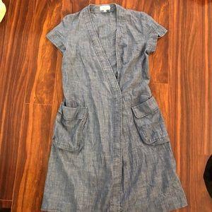 A.P.C. Chambray denim style dress